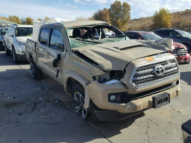 Tan Toyota Tacoma >> 2017 Toyota Tacoma Dou Tan 3tmcz5an0hm052635 Price History History Of Past Auctions
