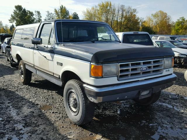1987 Ford F250 >> 1987 Ford F250 Two Tone 2fthf26l3hca89663 Price History History Of Past Auctions