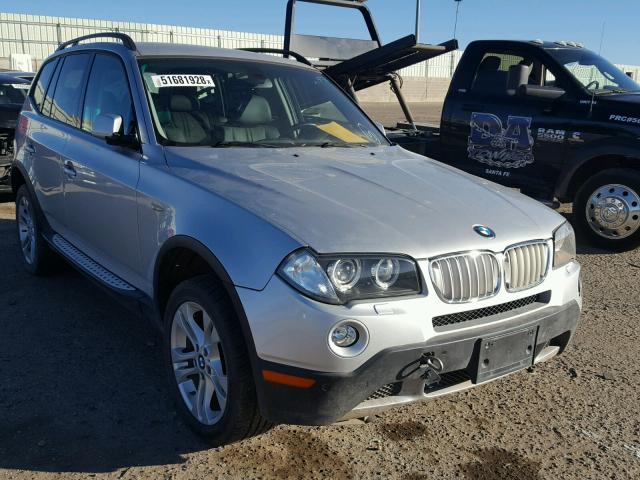 2008 Bmw X3 3.0 Si >> 2008 Bmw X3 3 0si Silver Wbxpc93478wj12072 Price History History Of Past Auctions