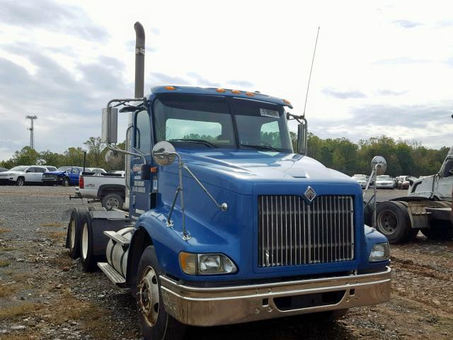2HSCESBR95C144529 - 2005 INTERNATIONAL 9200 9200I BLUE photo 1
