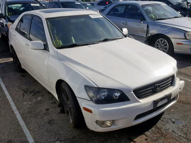 Jthbd182310031008 2001 Lexus Is 300 White Price History History Of Past Auctions Prices And Bids History Of Salvage And Used Vehicles