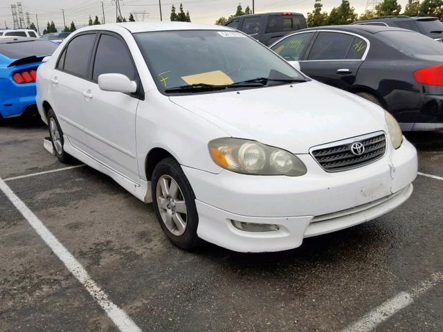 White Toyota Corolla >> 2007 Toyota Corolla Se White 1nxbr32ex7z856560 Price History History Of Past Auctions