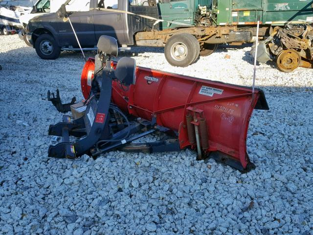 BC030304 - 2012 BOSS PLOW RED photo 4