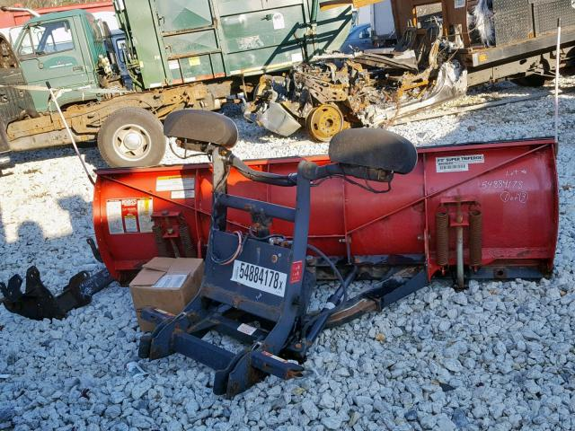 BC030304 - 2012 BOSS PLOW RED photo 6