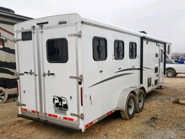 51Y335C2XJ2007530 - 2017 BISO HORSE TRAI WHITE photo 4