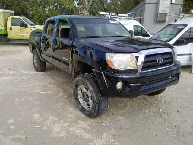 2006 TOYOTA TACOMA DOU, BLACK, 5TELU42N06Z231586 -, price history, history  of past auctions