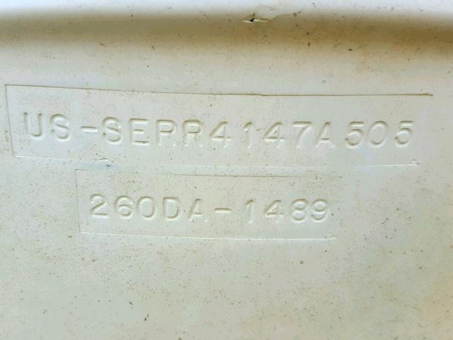 SERR4147A505 - 2005 SEAR MARINE LOT WHITE photo 10