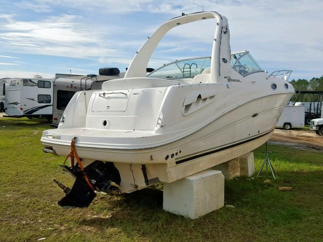 SERR4147A505 - 2005 SEAR MARINE LOT WHITE photo 4
