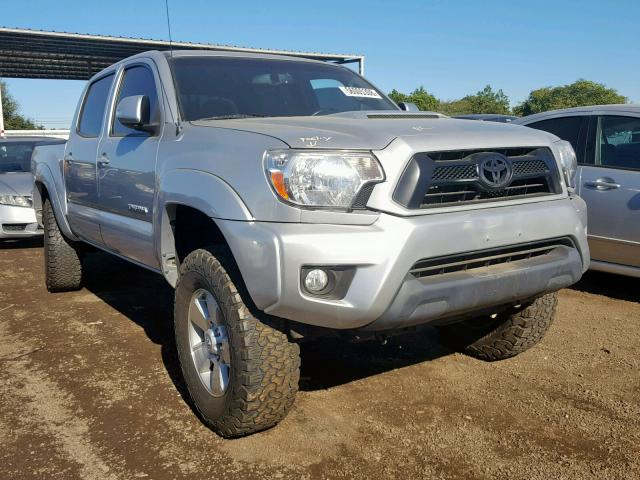 3tmlu4en2dm113304 2013 Toyota Tacoma Dou Silver Price History History Of Past Auctions Prices And Bids History Of Salvage And Used Vehicles