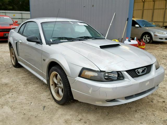 Auctions Of History 2001 Gt Past Ford Silver 1fafp42x01f102863 History Mustang Price -