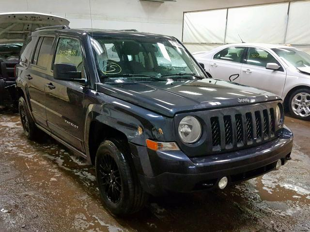 2014 JEEP PATRIOT LA, BLUE, 1C4NJRFB8ED798862 -, price history, history of  past auctions