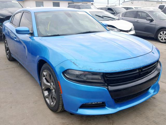 Blue Dodge Charger >> 2016 Dodge Charger Sx Blue 2c3cdxhg9gh180617 Price History History Of Past Auctions