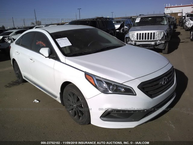 2016 Hyundai Sonata Sport Limited White 5npe34af4gh311922 Price History History Of Past Auctions