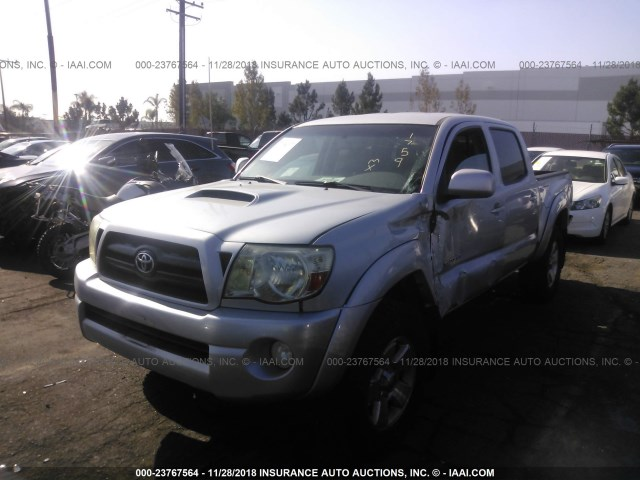2008 Toyota Tacoma Double Cab >> 2008 Toyota Tacoma Double Cab Prerunner Silver 3tmju62n48m058562 Price History History Of Past Auctions