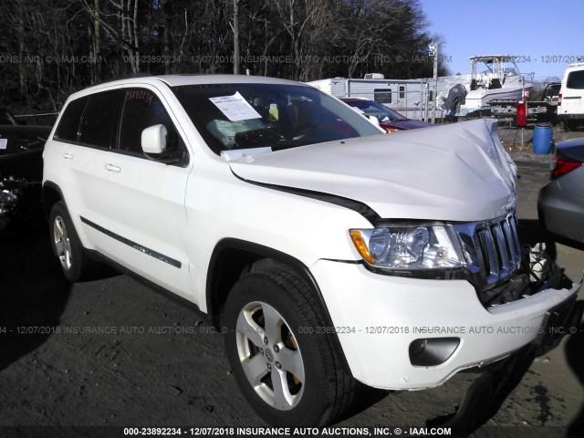 White Grand Cherokee >> 2012 Jeep Grand Cherokee Laredo White 1c4rjfag7cc150516 Price History History Of Past Auctions