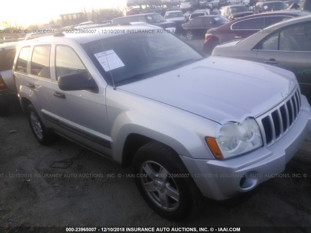 4437c992905a6 1J4GR48KX6C311650 - 2006 JEEP GRAND CHEROKEE LAREDO/COLUMBIA/FREEDOM SILVER  photo 1