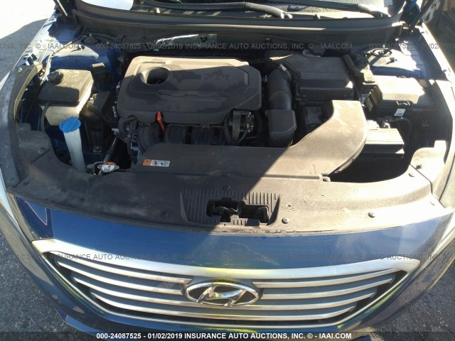 5npe24af0fh242681 2015 Hyundai Sonata Se Blue Price