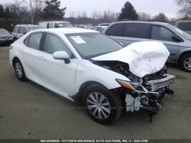 2018 TOYOTA CAMRY LE,