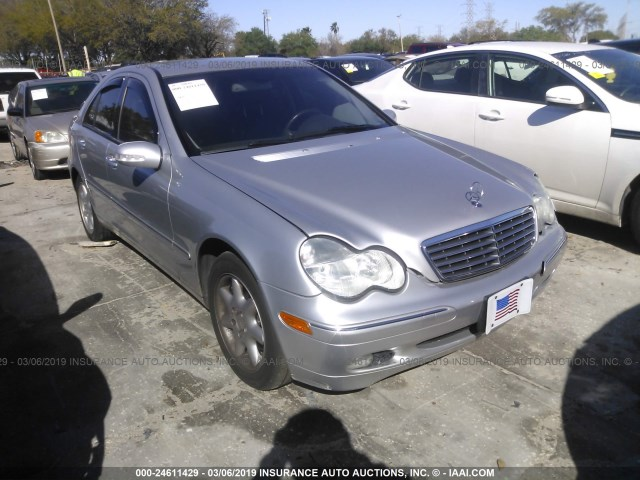 2004 Mercedes Benz C 240 4matic Silver Wdbrf81jx4f448470 Price History History Of Past Auctions
