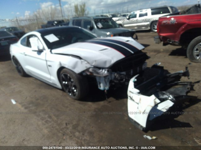 Car Auctions In Nc >> 2018 Ford Mustang Gt White 1fa6p8cf4j5180517 Price History History Of Past Auctions