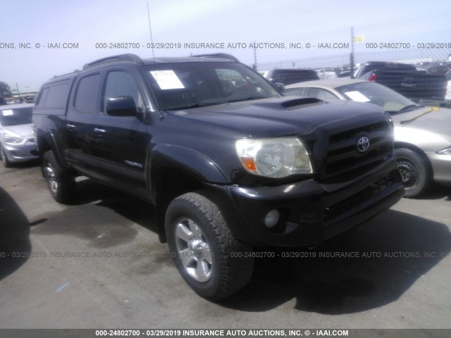2005 Toyota Tacoma Double Cab >> 2005 Toyota Tacoma Double Cab Long Bed Black 5temu52n15z097289 Price History History Of Past Auctions