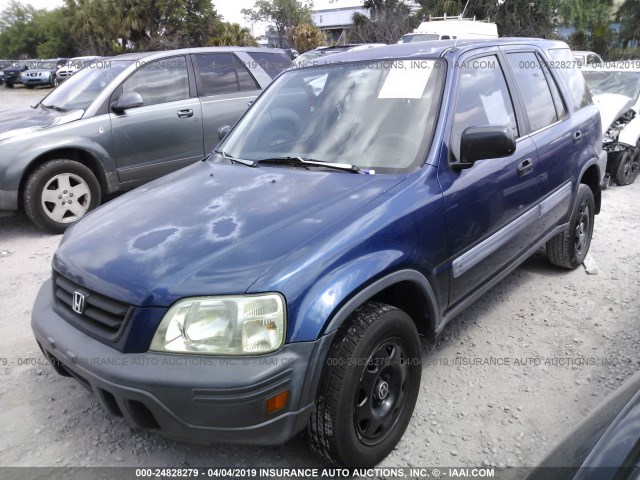 Jhlrd1848vc005769 1997 Honda Cr V Lx Blue Price History History Of Past Auctions Prices And Bids History Of Salvage And Used Vehicles